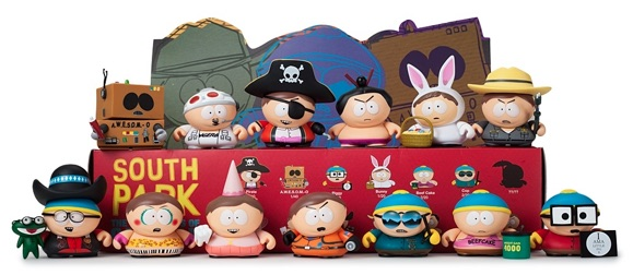 2015 Kidrobot South Park Many Faces of Cartman Mini Vinyl Figures main