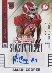 Amari Cooper Rookie Card Gallery and Checklist 49