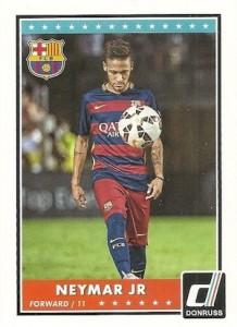 2015 Panini Donruss Soccer Base Neymar