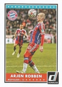 2015 Panini Donruss Soccer Base Robben