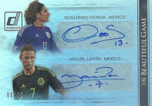 2015 Donruss Soccer Cards 35