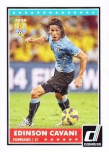 2015 Panini Donruss Soccer Variation Cavani