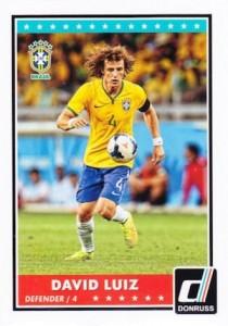 2015 Panini Donruss Soccer Variation David Luiz