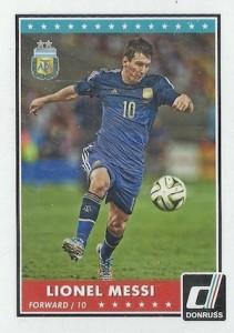 2015 Panini Donruss Soccer Variation Messi