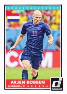 2015 Panini Donruss Soccer Variation Robben