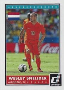 2015 Panini Donruss Soccer Variation Sneijder