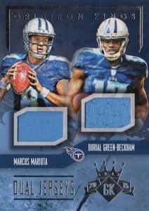 2015 Panini Gridiron Kings Football Cards 29
