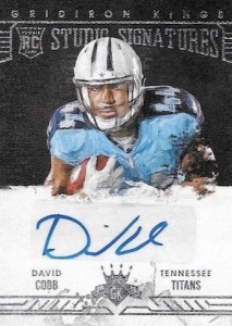 2015 Panini Gridiron Kings Football Cards 32