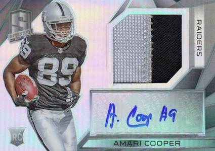 Amari Cooper Rookie Card Gallery and Checklist 23
