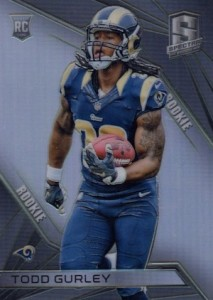 2015 Panini Spectra Todd Gurley RC #121