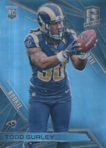 2015 Panini Spectra Todd Gurley RC #121 2