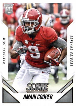 Amari Cooper Rookie Card Gallery and Checklist 24