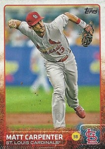 2015 Topps Base 336 Matt Carpenter