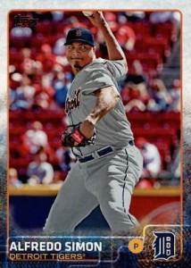 2015 Topps Update Series Baseball Variations Short Print Guide 261