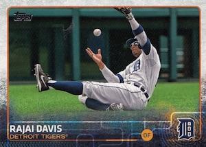 2015 Topps Baseball 518 Rajai Davis