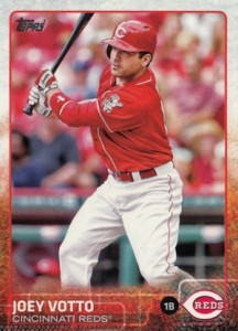 2015 Topps Baseball Base 15 Joey Votto