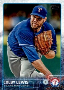 2015 Topps Baseball Base 151 Colby Lewis