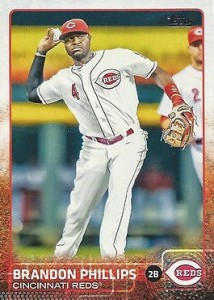 2015 Topps Baseball Base 266 Brandon Phillips