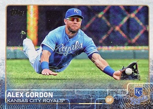 2015 Topps Baseball Base 456 Alex Gordon