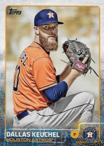 2015 Topps Baseball Base 477 Dallas Keuchel
