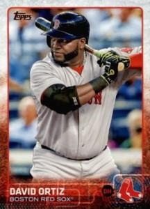 2015 Topps Baseball Base 500 David Ortiz