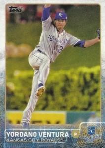 2015 Topps Baseball Base 78 Yordano Ventura