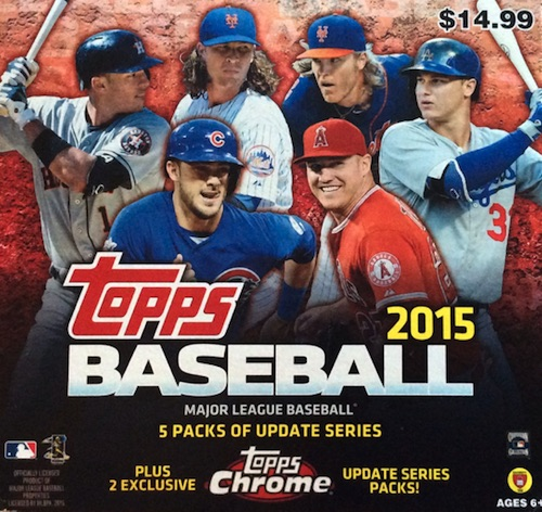 2015 Topps Chrome Update Series Baseball Cards 1