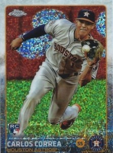 2015 Topps Chrome Update Series Baseball Cards 23