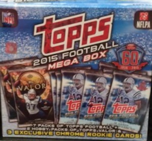 2015 Topps Football Mega Box