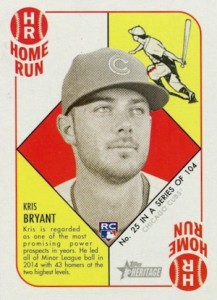 2015 Topps Heritage '51 Collection Kris Bryant RC #25