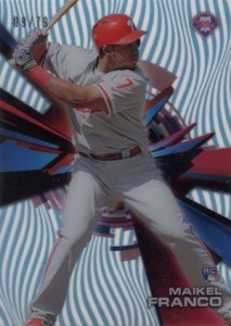 2015 Topps High Tek Baseball Asia Exclusive Sky Rainbow Pattern