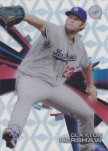 2015 Topps High Tek Baseball Base Diamonds Kershaw
