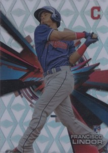 2015 Topps High Tek Baseball Base Diamonds Lindor