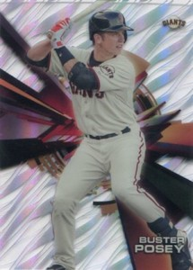 2015 Topps High Tek Baseball Home Uniform Variation Buster Posey
