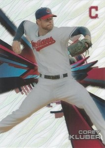 2015 Topps High Tek Baseball Home Variation Kluber