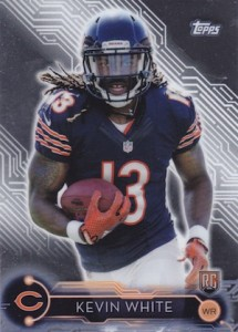 2015 Topps Holiday Mega Football Kevin White