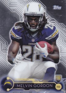 2015 Topps Holiday Mega Football Melvin Gordon