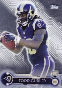 2015 Topps Holiday Mega Football Todd Gurley