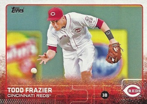 2015 Topps Series 1 Base Todd Frazier