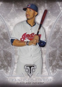 2015 Topps Triple Threads Francisco Lindor RC