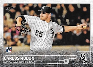 2015 Topps Update Series Base Carlos Rodon RC