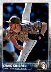 2015 Topps Update Series Base Craig Kimbrel