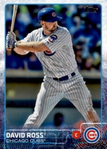 2015 Topps Update Series Base David Ross