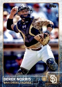 2015 Topps Update Series Base Derek Norris
