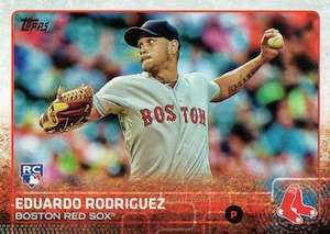 2015 Topps Update Series Base Eduardo Rodriguez