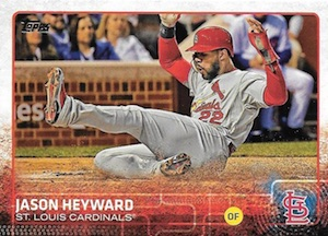 2015 Topps Update Series Base Jason Heyward