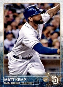 2015 Topps Update Series Base Matt Kemp