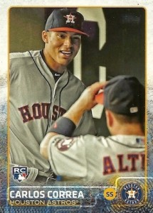 2015 Topps Update Series Variations Guide Checklist