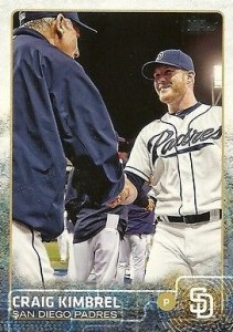 2015 Topps Update Series Base Photo Variation Craig Kimbrel