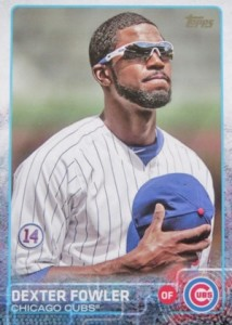 2015 Topps Update Series Base Photo Variation Dexter Fowler